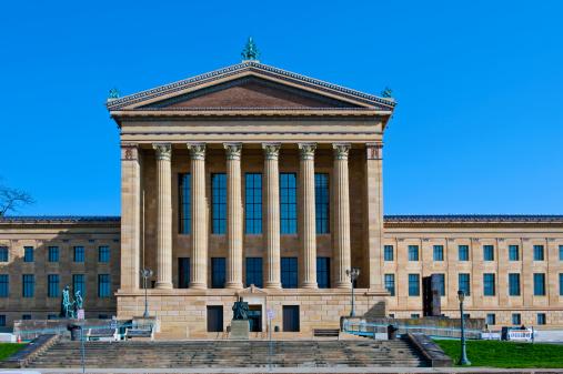 Pennsylvania「Philadelphia Museum of Art Greek Revival building」:スマホ壁紙(12)