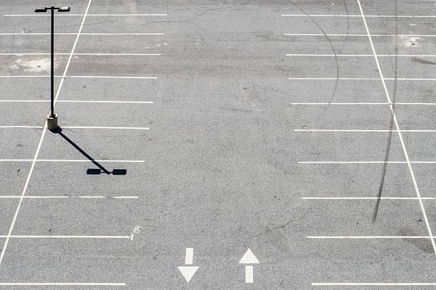 USA, Philadelphia, Empty parking lot, seen from above:スマホ壁紙(壁紙.com)