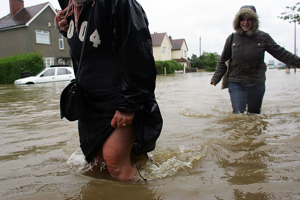 Kingston upon Hull「Flood Alerts Issued As Heavy Rain Hits UK」:写真・画像(14)[壁紙.com]