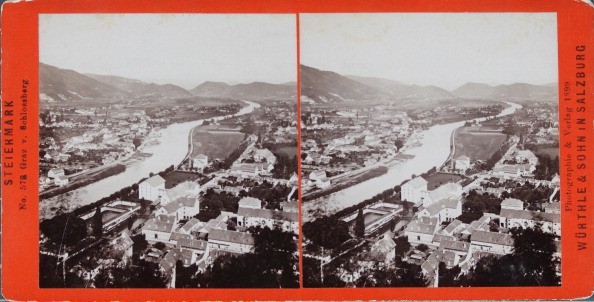 Graz「Graz. View From The Castle Hill. About 1900. Stereo Photograph By Würthle & Sohn / Salzburg.」:写真・画像(14)[壁紙.com]