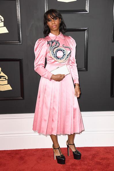グラミー賞「The 59th GRAMMY Awards - Arrivals」:写真・画像(8)[壁紙.com]