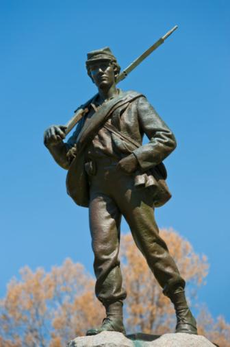 Battle「Statue of union soldier at Vicksburg National Military Park」:スマホ壁紙(6)