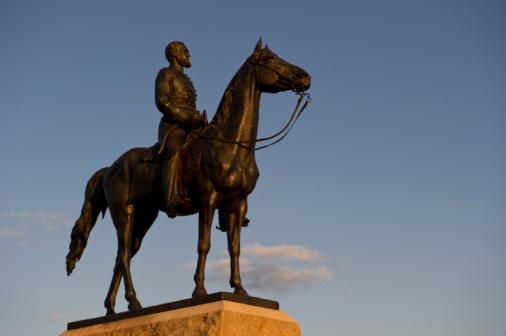 Daniel Gi「Statue of Union General George Meade」:スマホ壁紙(3)