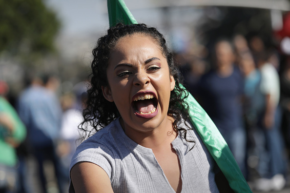 Baja California Peninsula「Anti-Immigrant Activists Rally At US-Mexico Border」:写真・画像(7)[壁紙.com]