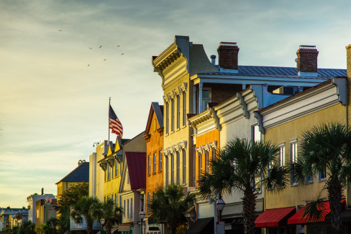 Charleston - South Carolina「King Street Buildings」:スマホ壁紙(9)