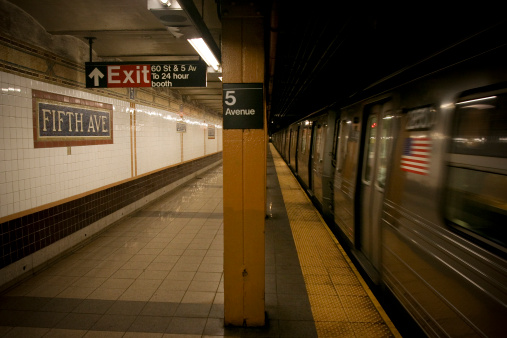 Avenue「Subway , New York City, USA」:スマホ壁紙(7)