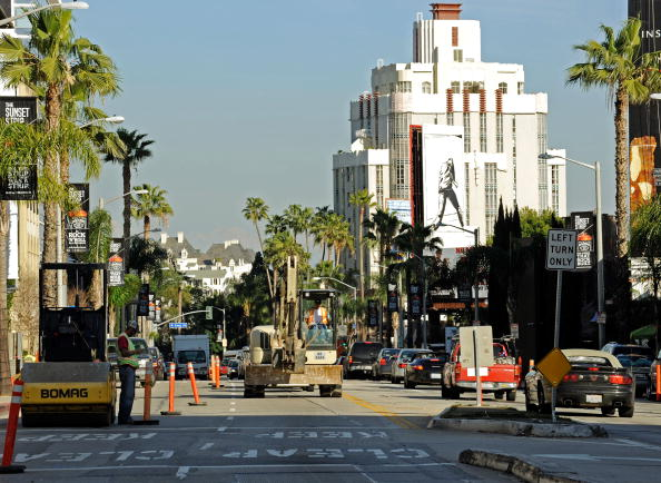 West Hollywood「Recovery Act Provides One Million Dollars To Existing Sunset Strip Project」:写真・画像(1)[壁紙.com]