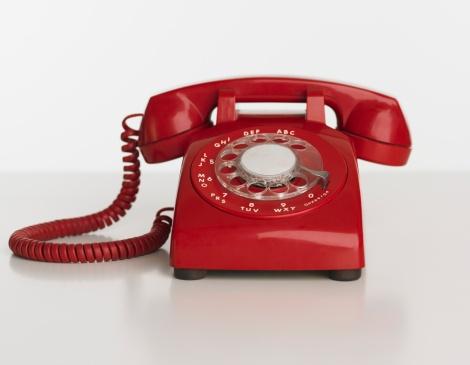 Landline Phone「Close up studio shot of rotary telephone」:スマホ壁紙(19)