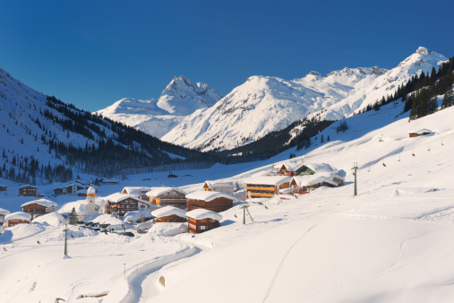 Chalet「Zug, in the valley of Lech, Vorarlberg」:スマホ壁紙(4)