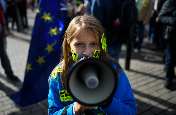 Brexit「People's Vote Campaign Rallies For Final Say On Brexit」:写真・画像(4)[壁紙.com]