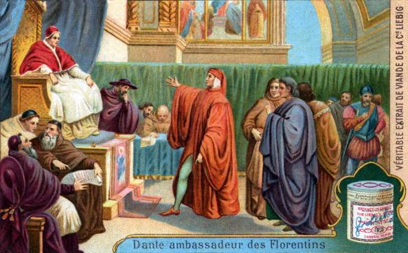 Circa 14th Century「Dante Alighieri before Pope Boniface VIII」:写真・画像(17)[壁紙.com]