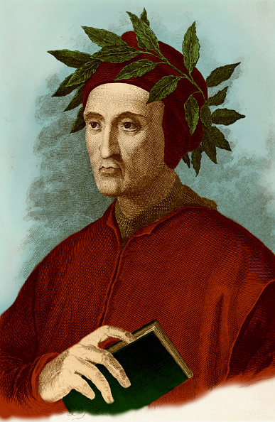 Circa 14th Century「Dante Alighieri typical portrait」:写真・画像(7)[壁紙.com]
