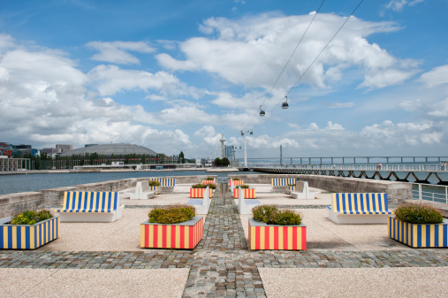Aerial tramway「Parque das Naçoes, Lisbon」:スマホ壁紙(5)
