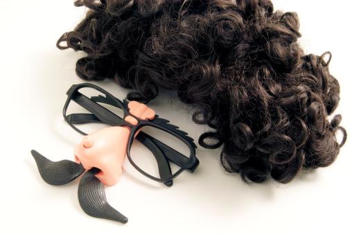 Human Nose「Comedy eyeglasses and wig」:スマホ壁紙(14)