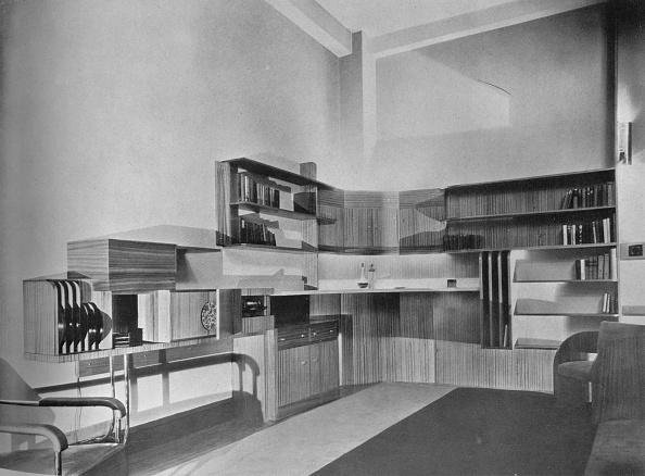 Open Plan「The Apartment Of Ben Herzberg, New York. Designed By Howe And Lescaze', 1933.」:写真・画像(14)[壁紙.com]