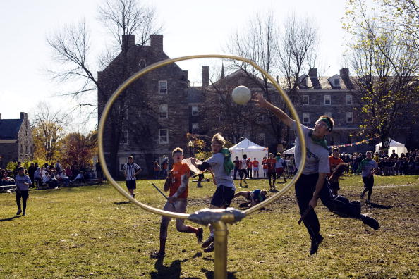J.K「Fictitious Harry Potter Sport Quidditch Comes To Real Life」:写真・画像(15)[壁紙.com]