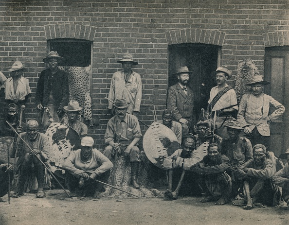 British Empire「A Group Of Afrikaners And Zulus」:写真・画像(10)[壁紙.com]