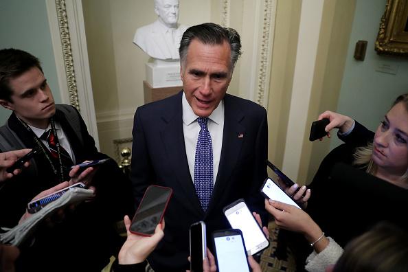 Mitt Romney「Senate Impeachment Trial Of President Donald Trump Begins」:写真・画像(10)[壁紙.com]