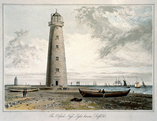 Etching「The Orford Ness Lighthouses Suffolk' 1822」:写真・画像(18)[壁紙.com]
