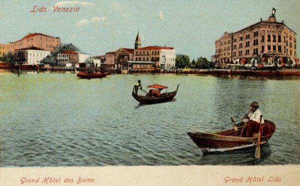 Postcard「Venice  Lido, Grand Hotel Lido,」:写真・画像(17)[壁紙.com]