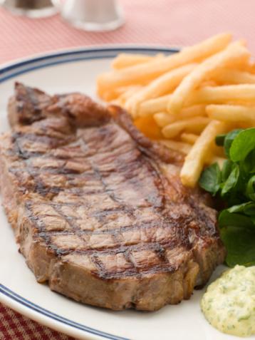 Tarragon「Steak Frite with Watercress and Barnaise Sauce」:スマホ壁紙(12)