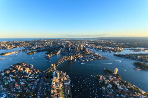 Tilt-Shift「Sydney, New South Wales」:スマホ壁紙(7)