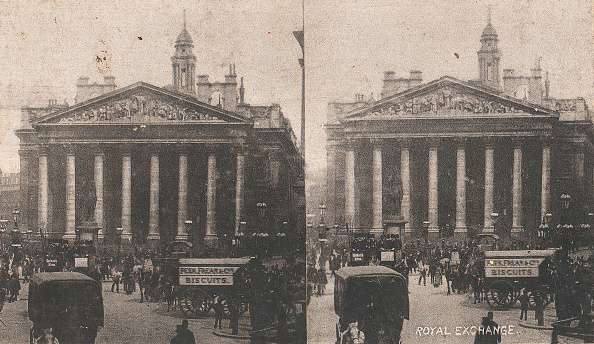 Biscuit「Pair Of Stereograph Views Of The Royal Exchange」:写真・画像(2)[壁紙.com]