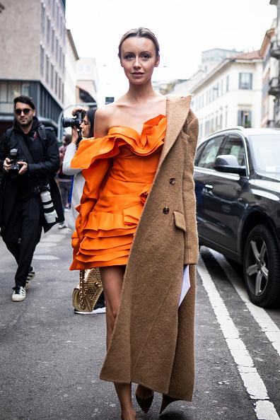ストリートスナップ「Ermanno Scervino - Street Style - Milan Fashion Week 2019」:写真・画像(8)[壁紙.com]