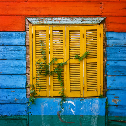 Buenos Aires「Colorful Window」:スマホ壁紙(4)