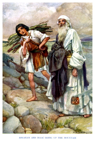 God「Abraham and Isaac going up the mountain」:写真・画像(15)[壁紙.com]