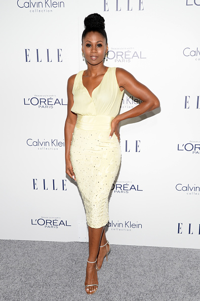 Sleeveless Dress「22nd Annual ELLE Women In Hollywood Awards - Arrivals」:写真・画像(7)[壁紙.com]
