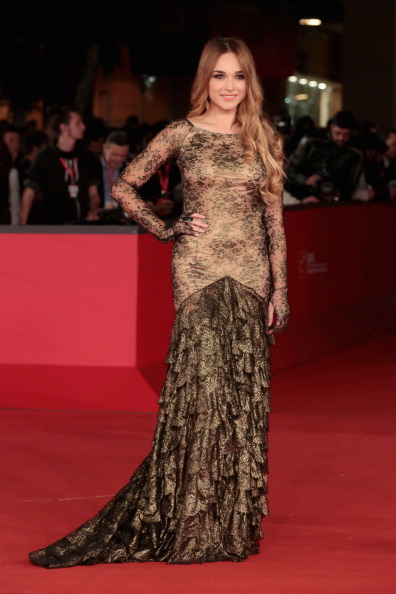 Sleeved Dress「'Bullets To The Head' Premiere - The 7th Rome Film Festival」:写真・画像(14)[壁紙.com]