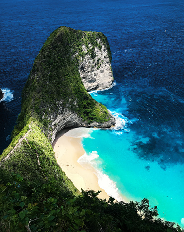 Manta「Kelingking beach aerial view, Nusa Penida」:スマホ壁紙(1)