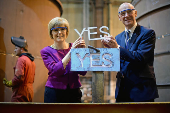 Alloy「Scottish Referndum Debate Continues As Vote Is Too Close To Call」:写真・画像(12)[壁紙.com]