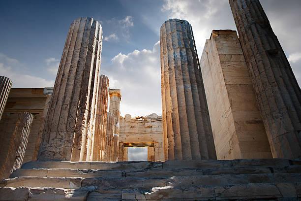 Entryway Into the Acropolis:スマホ壁紙(壁紙.com)