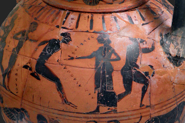 Ancient Greece「The Long Jump Event At The Ancient Olympic Games Attic Black-Figured Cup 540 BC」:写真・画像(5)[壁紙.com]
