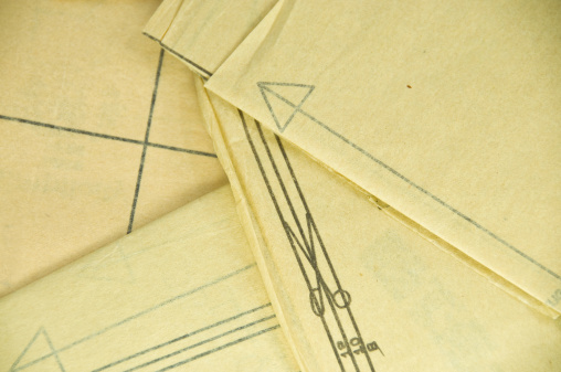Cloth pattern「Sewing Pattern Background」:スマホ壁紙(9)