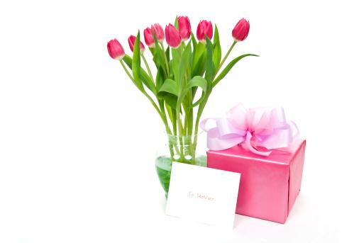 母の日「ピンクの母の日」:スマホ壁紙(7)
