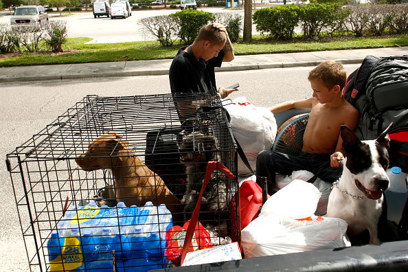 Tampa「Massive Hurricane Irma Bears Down On Florida」:写真・画像(8)[壁紙.com]