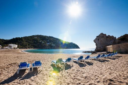 Mediterranean Sea「Beach at Cala de Sant Vicent」:スマホ壁紙(8)