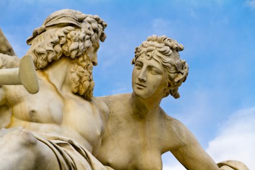 Bust - Sculpture「Pallas-Athene Fountain, Vienna」:スマホ壁紙(12)