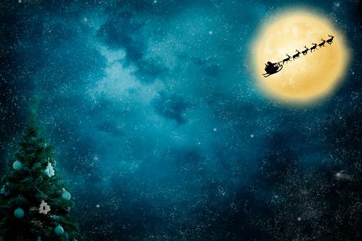 Moon「Christmas Flight」:スマホ壁紙(10)