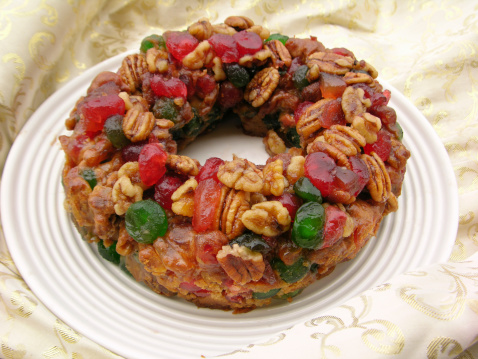Christmas cake「Christmas Fruitcake」:スマホ壁紙(7)