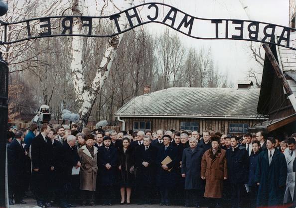 50th Anniversary「Commemoration Of The 50Th Anniversary  Of The Liberation Of The Concentration Camp Auschwitz-Birkenau. Poland. Photograph.  1995.」:写真・画像(8)[壁紙.com]