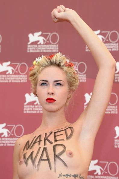 Women's Issues「'Ukraine Is Not A Brothel' Photocall - The 70th Venice International Film Festival」:写真・画像(5)[壁紙.com]