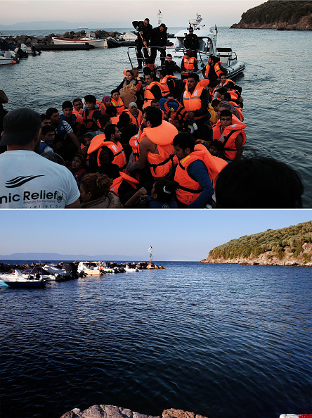 Greek Islands「Key Locations Of The 2015 Migrant Crisis Revisited」:写真・画像(0)[壁紙.com]