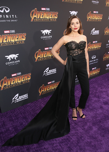 "Strapless「Los Angeles Global Premiere for Marvel Studios' ""Avengers: Infinity War""」:写真・画像(2)[壁紙.com]"