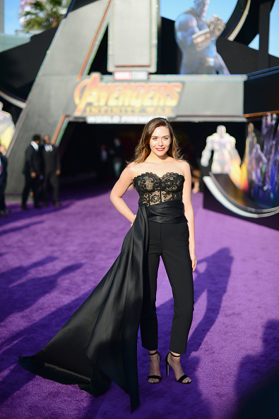 "Elizabeth Olsen「Los Angeles Global Premiere for Marvel Studios' ""Avengers: Infinity War""」:写真・画像(19)[壁紙.com]"