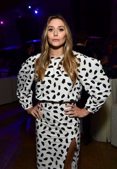 "Elizabeth Olsen「Cocktail Party For ""Wind River""」:写真・画像(16)[壁紙.com]"
