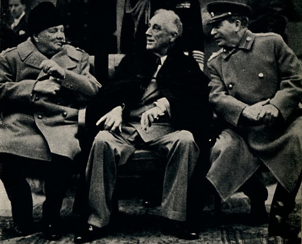 Franklin Roosevelt「Big Three Conference In The Crimea」:写真・画像(10)[壁紙.com]